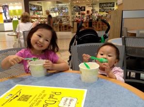Girls enjoying their Qoola.