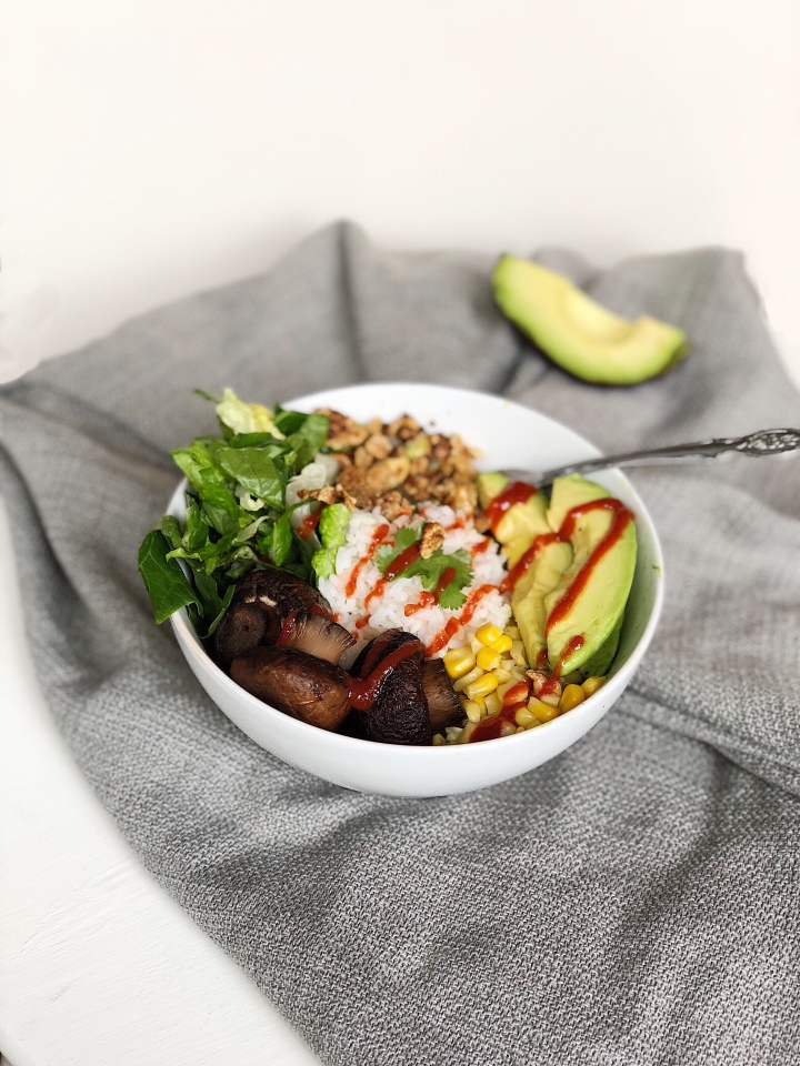 r e c i p e | Power Bowl with Crispy Tofu