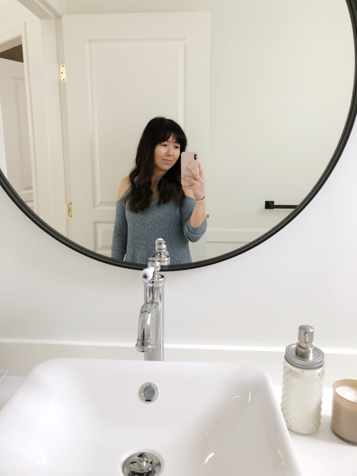 Powder Room Renovation on a Budget – The REVEAL (Part 2)