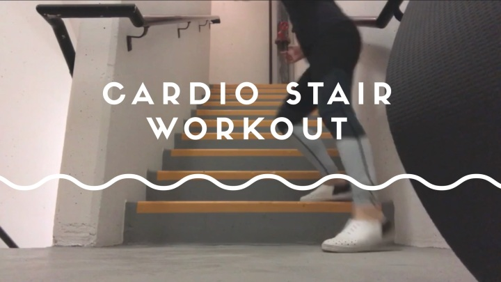 Cardio Stair Workout + Video