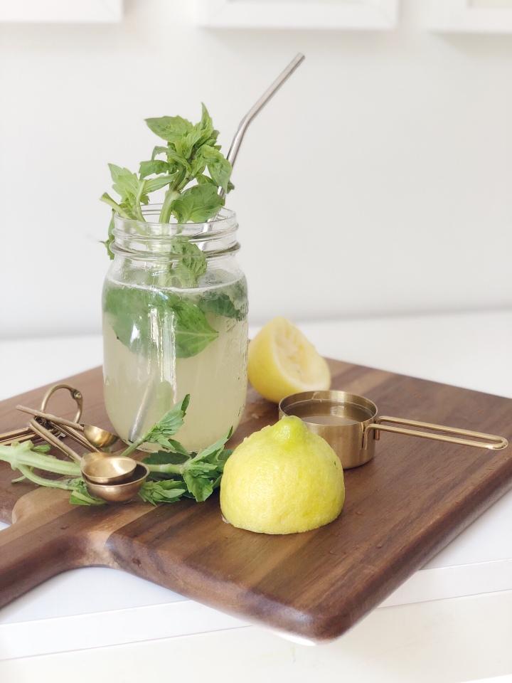 LEMONADE 3 Ways: Boozy, Basil + Caff'dUp