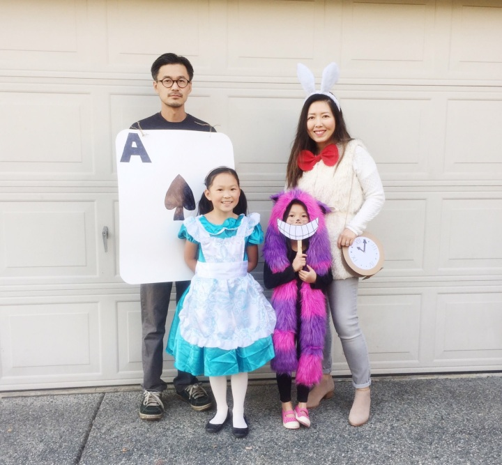 DIY | Alice In Wonderland Family Costume