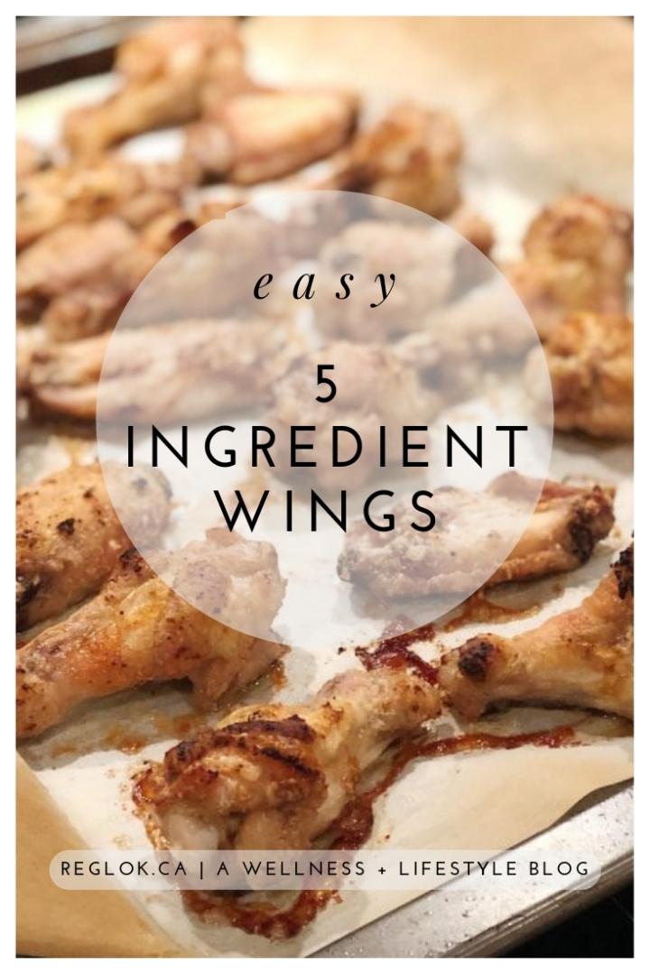 Easy 5 Ingredient Crispy Chicken Wings (NoFrying!)