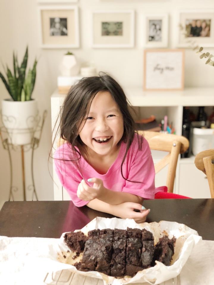 Baking With Livie: Mixing Chocolate and Veggies (The SecretIngredient!)