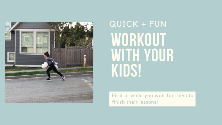 Quick + Fun Workout with Me, Liv and Lamby That You Can Do Anywhere