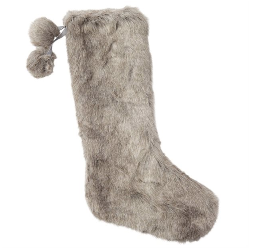 indigo stockings fur
