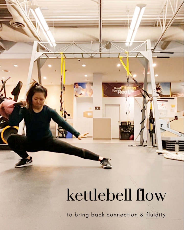 Kettlebell Flow to bring back flow and fluidity