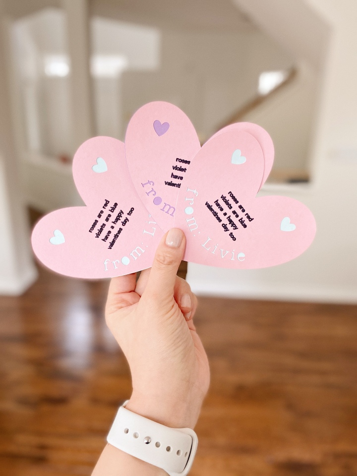 How to Use the Cricut Pen with Valentines Day Cards