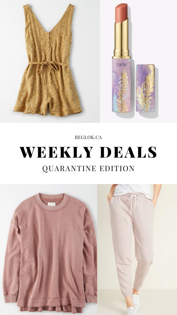 Weekly Deals Quarantine Edition Mar 29 – April 6 , 2020