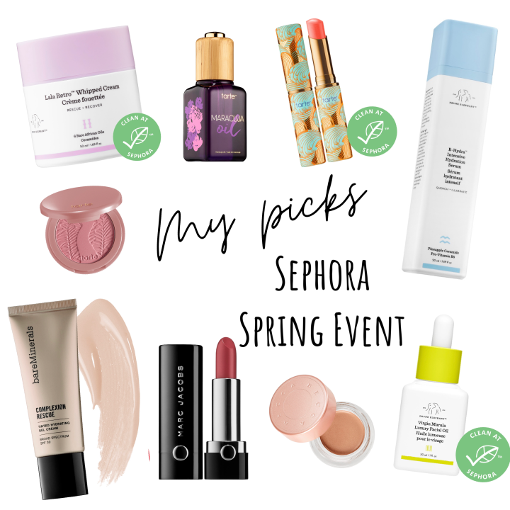 My Picks for the Sephora Spring SalesEvent