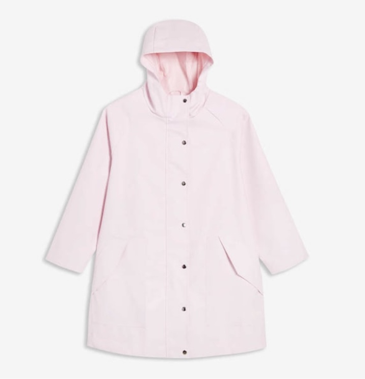 joe fresh raincoat pink