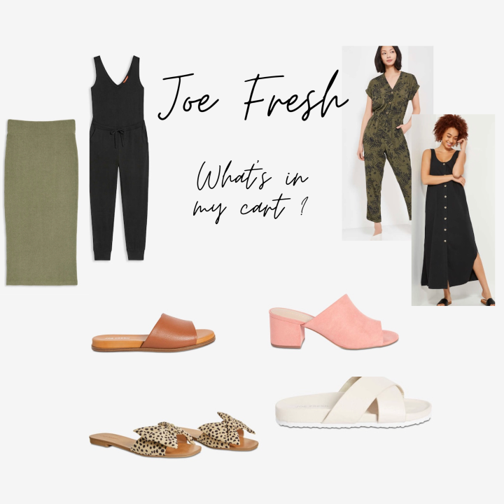Joe Fresh: What's in my cart for spring?
