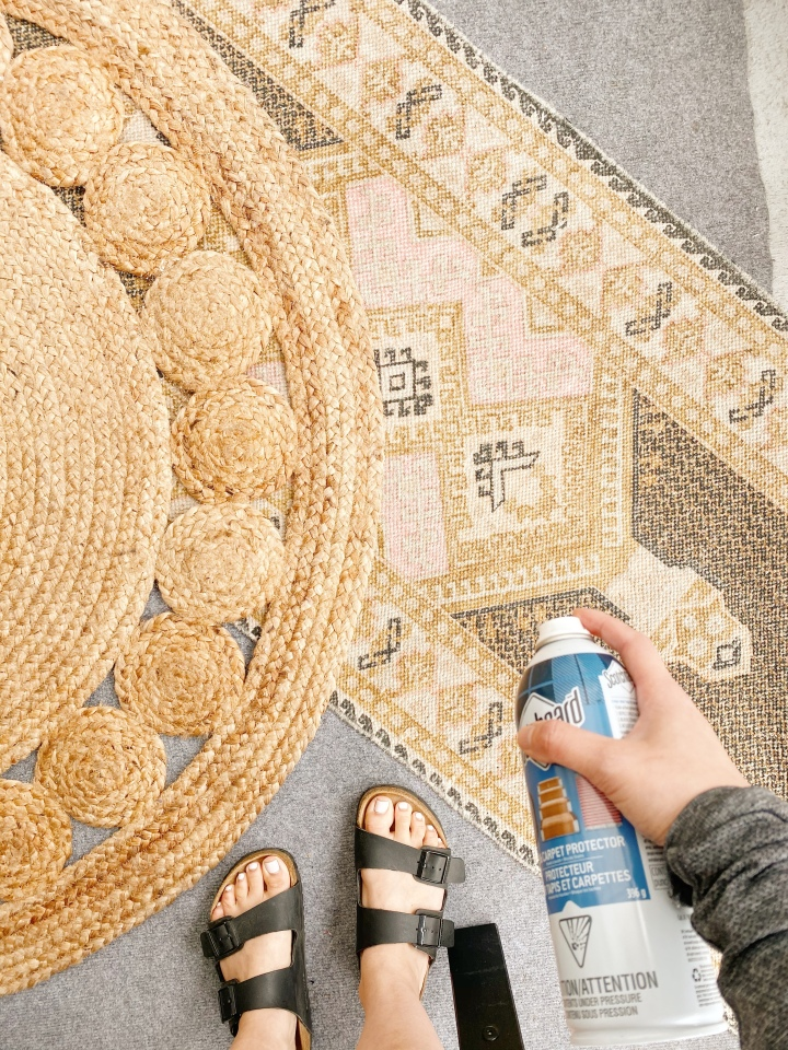 How To Turn Any Fabric into Outdoor Fabric for$10