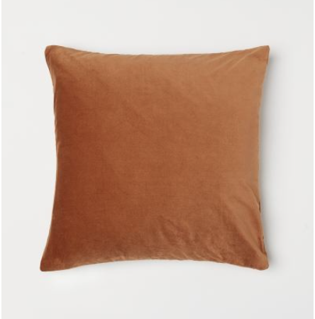 rust cushion cover